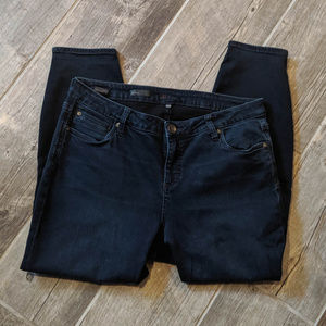 Dark Skinny Jeans Kut from the Kloth Size 14 W